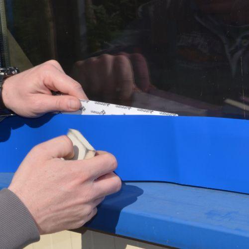 Bekannt selbstklebende Folien für Reparaturarbeiten uns vieles mehr LF93
